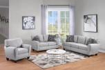 Reese Cream Sofa, Loveseat & Chair, U2951