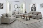 Big Chill Parchment Sofa, Loveseat, 1.5 Chair & Swivel Chair, U4439