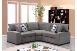 Clayton Charcoal Poly Sectional by Porter Designs