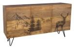Alpine Deer Sideboard, 55471