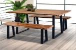 """Manzanita Harvest 72"""" Dining Table with Different Bases, VCS-DT72H"""
