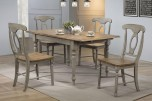 Barnwell Dining Table w/ Butterfly Leaf & Chairs, DB53667
