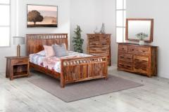 Kalispell Harvest Bedroom Set, PDU-102A-HRU