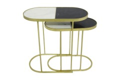 Jacqueline Nesting Accent Tables, 2627W - LIMITED EDITION