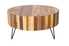 Tulsa Natural Reclaimed Wood Coffee Table by Porter Designs, designed in Portland, Oregon