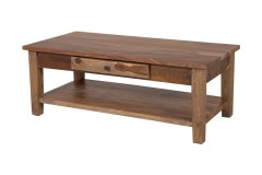 Tahoe Harvest Coffee Table with Drawer, SBA-9011H