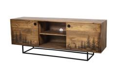 Cascade Tree  TV Stand, 55549