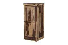 Tahoe Sheesham Wood Loft Bar Cabinet by Porter Designs, designed in Portland, Oregon