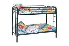 Fordham Black Twin Bunk Beds, COAST-2256K