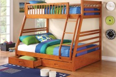 Coaster Ogletown Twin Over Full Bunk Beds, 460183
