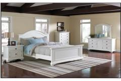 Brook White Bedroom Set, ELEM-BP700