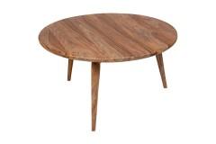 Urban Sheesham Wood Round Coffee Table by Porter Designs