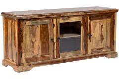 Tahoe Sheesham Wood 3 Door Media Stand by Porter Designs