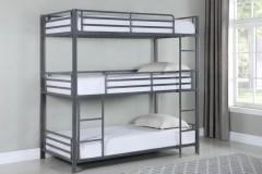 Maynard Triple Twin Bunk Bed, COAST-422670