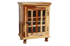 Tahoe Sheesham Wood 12 pane Cabinet by Porter Designs