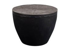 Thrum Gray End Table by Porter Designs