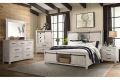 Scott White Bedroom Set, SC670QH