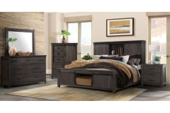 Scott Dark Bedroom Set, SC300