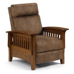 Tuscan Cognac Pushback Chair, BEST-2LW20DP-19976