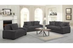 Big Chill Charcoal Corduroy Sofa