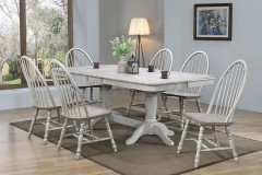 """Ridgewood 72"""" Trestle Dining Table  w/ Butterfly Leaf & Chairs, DR24296"""