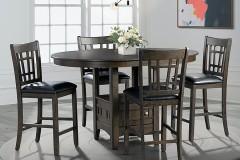 Max Gray Pub Table & Chairs, DMX300PT