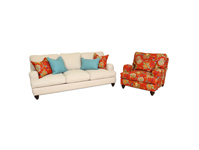Chateau sofa love and chair