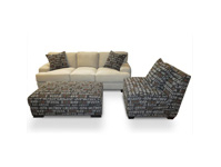 Burton Sofa Love and Chair