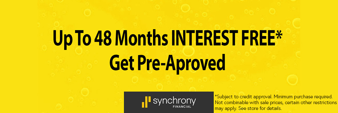 Promotional Financing Available with Synchrony