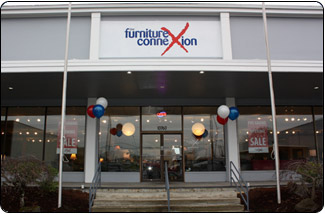 Furniture Connexion Showroom in Beaverton