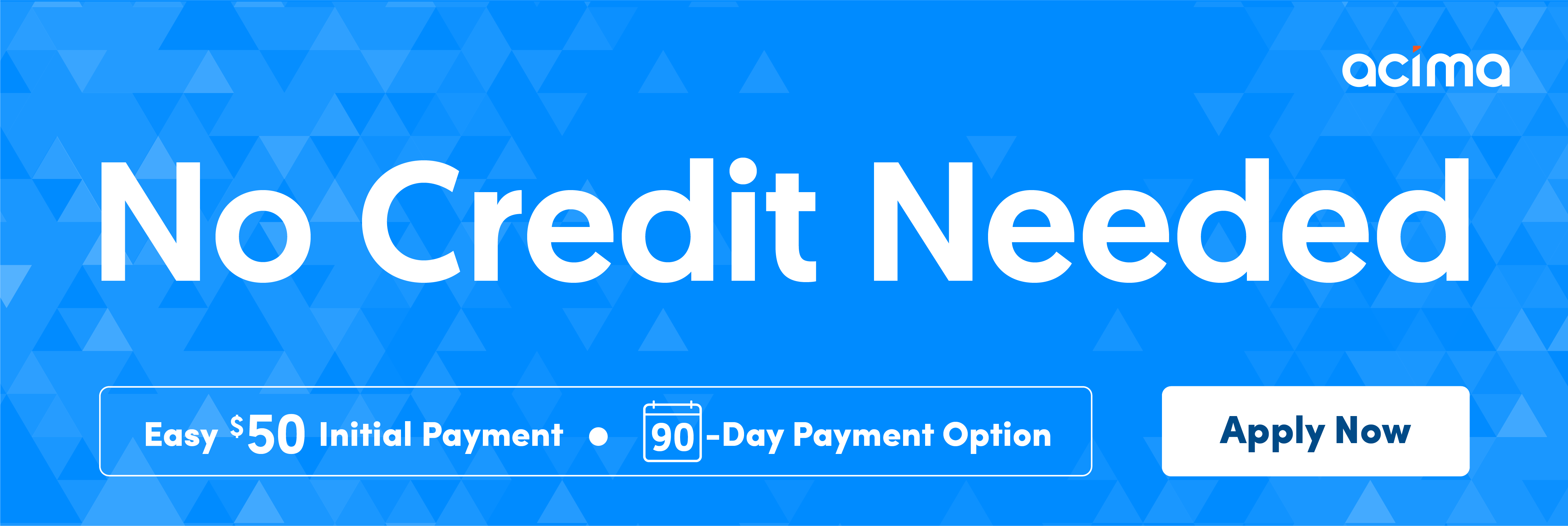 Acima Credit Application